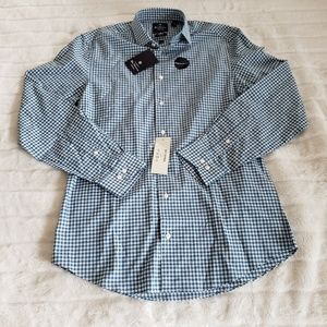 Ben Sherman Gingham Plaid Long Sleeve Button Up